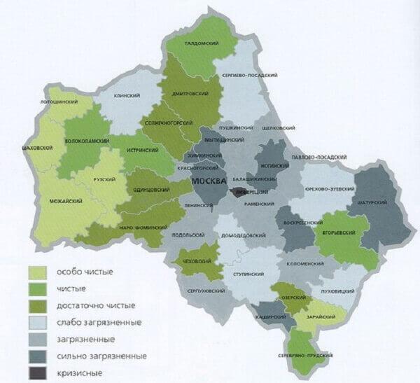 Экология Московской области